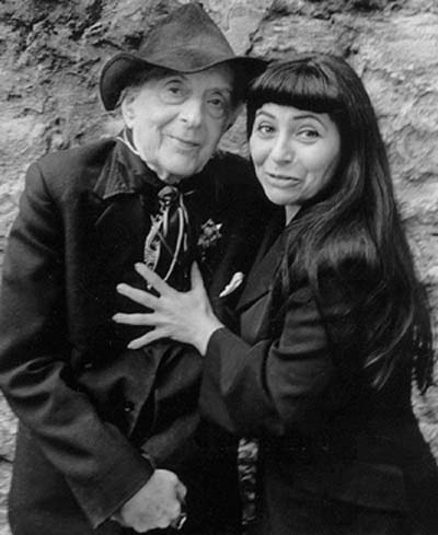 Penny Arcade and Quentin Crisp